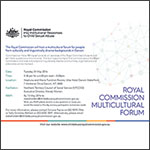 Multicultural Community Information Forums