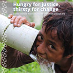 Recent Events - Hungry for Justice, Thirsty for Change